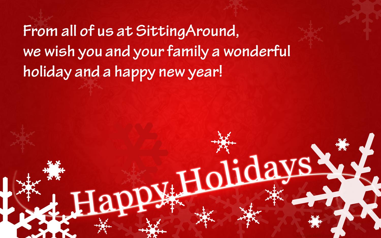 Happy Holidays! | SittingAround.com Blog