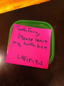 Tooth Fairy Anti Larceny: Exhibit A